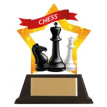 Chess Mini-Star Acrylic Award
